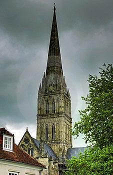 Salisbury Cathedral Spire Royalty Free Stock Photo - Image: 8945885