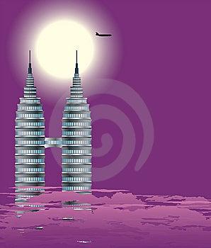 Wolkenkratzer Stockbilder - Bild: 8946364
