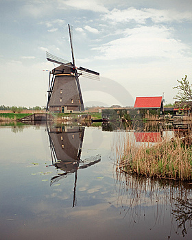 Windmill Royalty Free Stock Image - Image: 8948736