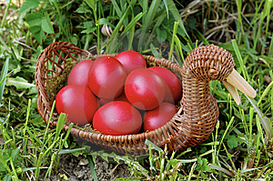 Easter Eggs Stock Photo - Image: 8949640