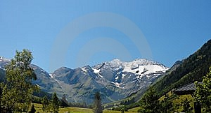 Snow Top Of The Highest Austrian Mo Stock Image - Image: 8950271