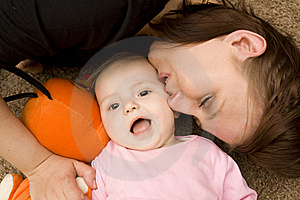 Mother And Baby Royalty Free Stock Image - Image: 8950546