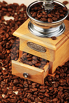 Coffee Grinder Royalty Free Stock Photo - Image: 8950815