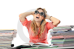 Crazy Of Knowledges Royalty Free Stock Photography - Image: 8950837