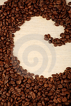 Pattern Of Coffee Stock Photography - Image: 8951122