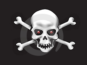The Skeleton Stock Image - Image: 8952251
