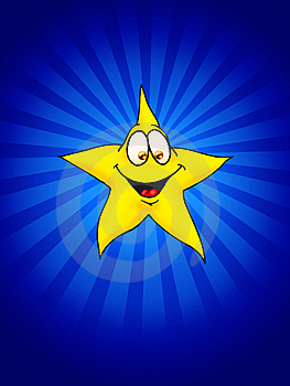 Smiling Star Stock Photos - Image: 8952263