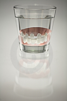 False Teeth Royalty Free Stock Photo - Image: 8952505