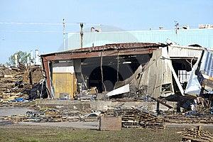 Tornado Path Royalty Free Stock Image - Image: 8953106