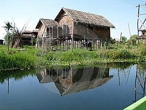 Fishing Hut Royalty Free Stock Photography - Image: 8953557