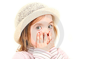 Young Girl In Hat Royalty Free Stock Photos - Image: 8953668