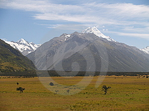 Mount Cook / Aoraki Royalty Free Stock Photography - Image: 8954127