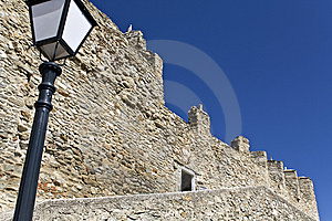 Castle At Kavala City In Greece Stock Images - Image: 8954844
