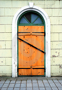 Locked Door Royalty Free Stock Images - Image: 8955539