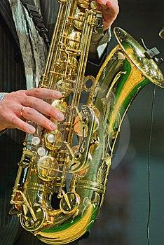 Saxophonist Stock Image - Image: 8956241