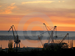 Shipyard Royalty Free Stock Image - Image: 8956626