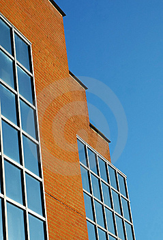 Bricks And Glass Stock Images - Image: 8956714