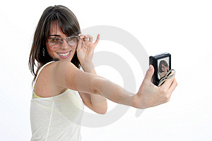 Self Portrait Royalty Free Stock Images - Image: 8957859