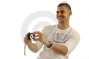 Man Taking Picture Royalty Free Stock Photo - Image: 8957925