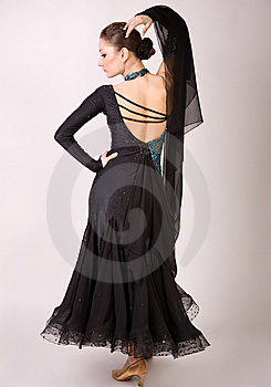 Dancer Girl Posing Stock Images - Image: 8958494