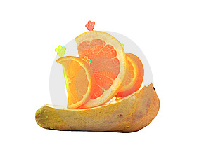 Ship From Fruit Stock Image - Image: 8958851