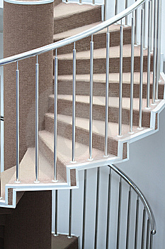 Staircase In Home Royalty Free Stock Images - Image: 8961989