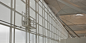 Airport Windows Stock Photos - Image: 8962063