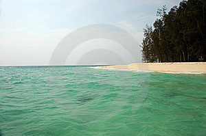 Bamboo Island Royalty Free Stock Images - Image: 8962369
