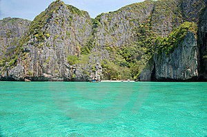 Maya залива Стоковые Изображения - изображение: 8962684