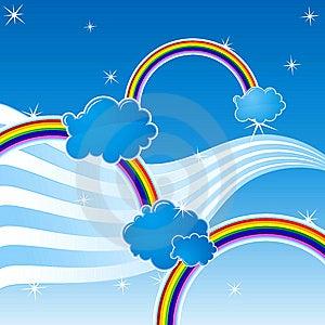 Rainbow Royalty Free Stock Image - Image: 8964366