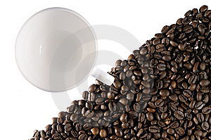 Desire For Coffee Royalty Free Stock Photos - Image: 8965128