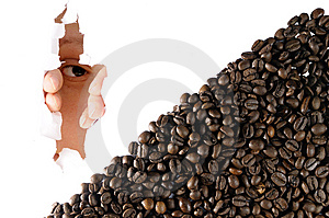 Desire For Coffee Royalty Free Stock Photography - Image: 8965187