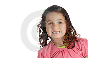Little Girl With A Big Smile Stock Photo - Image: 8965610