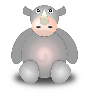 Rhinoceros Royalty Free Stock Photography - Image: 8965787