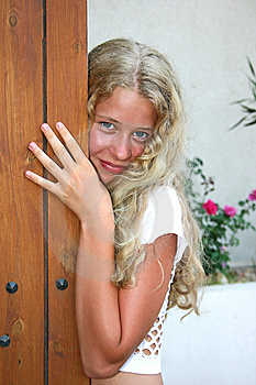 Pretty Blond Girl Stock Images - Image: 8966204