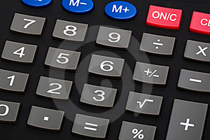 Modern Calculator Stock Photo - Image: 8966900