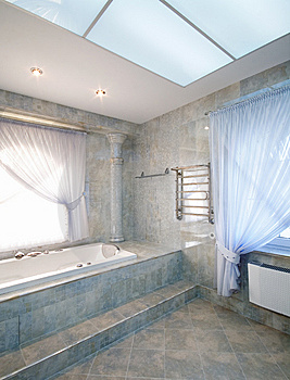 Luxury Bathroom Royalty Free Stock Photo - Image: 8967025