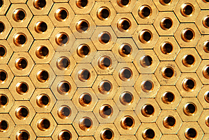 Background Of Screw-nuts Royalty Free Stock Photo - Image: 8967165