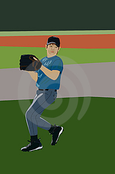 Baseball Player Stock Image - Image: 8967451