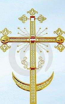 Het Orthodoxe Kruis Royalty-vrije Stock Fotografie - Afbeelding: 8967907