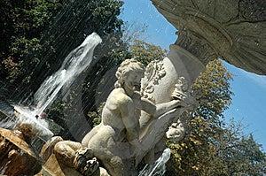 Fountain Of Triton Royalty Free Stock Photo - Image: 8968555