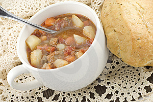 Bowl Of Homemade Beef Stew Royalty Free Stock Image - Image: 8970266