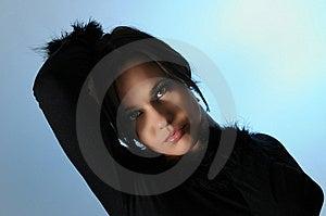 Elegant Fashion Woman Stock Photo - Image: 8971450