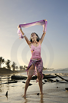 Fresh Summer Girl Stock Image - Image: 8972061
