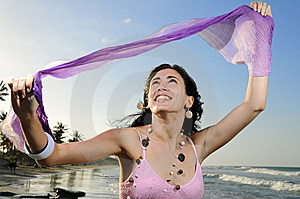 Joyful Summer Girl Royalty Free Stock Image - Image: 8972066