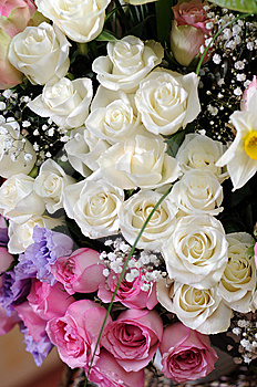 Wedding Bouquet Royalty Free Stock Image - Image: 8973446