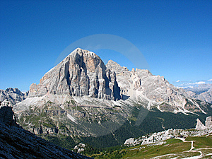 Dolomites Landscape Stock Images - Image: 8973714