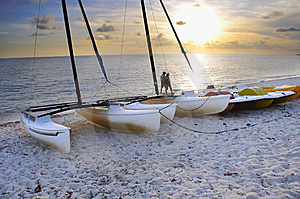 Beach Attraction Stock Image - Image: 8974991