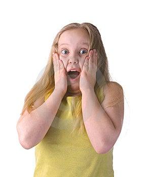 Surprised Girl Royalty Free Stock Photo - Image: 8976765