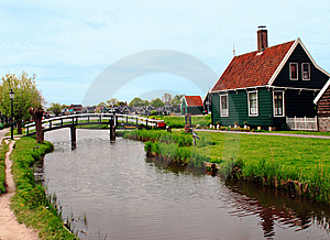 Building Near A River Stock Image - Image: 8977271